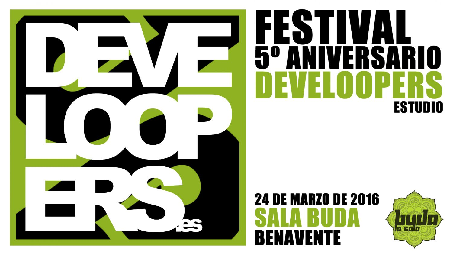 Festival 5º aniversario Develoopers Estudio